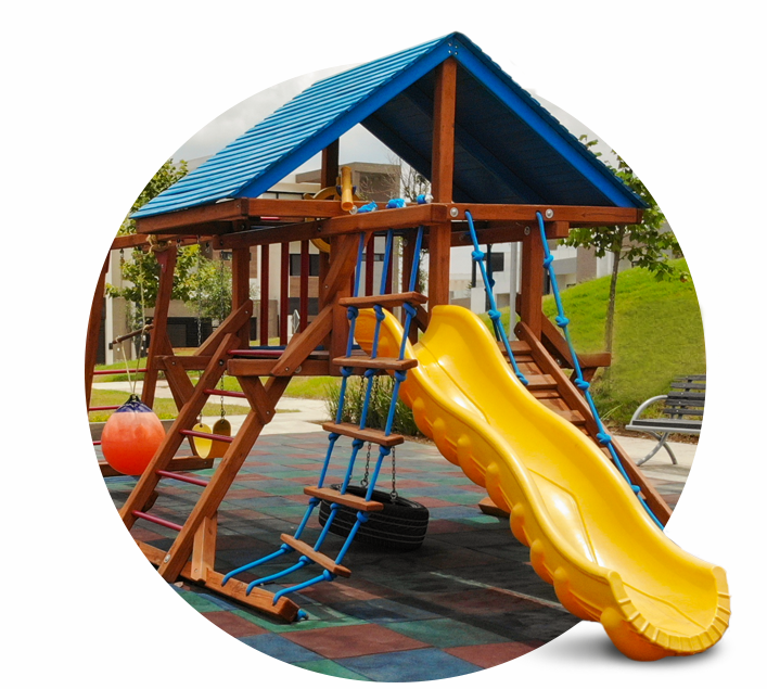 Foto de casas en venta en Cumbres San Agustín, amenidades, juegos infantiles.